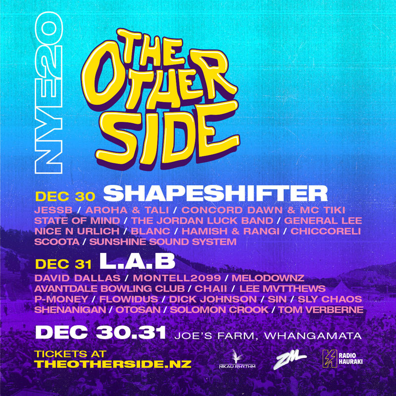 NYE20 The Other Side flyer